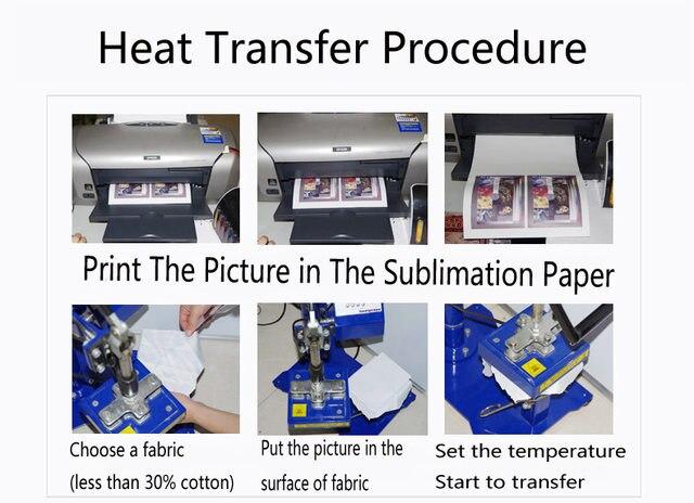 f0e0ef9b8 Online Shop Transparent Thermal Heat Transfer Paper Laser A4 Dye ...