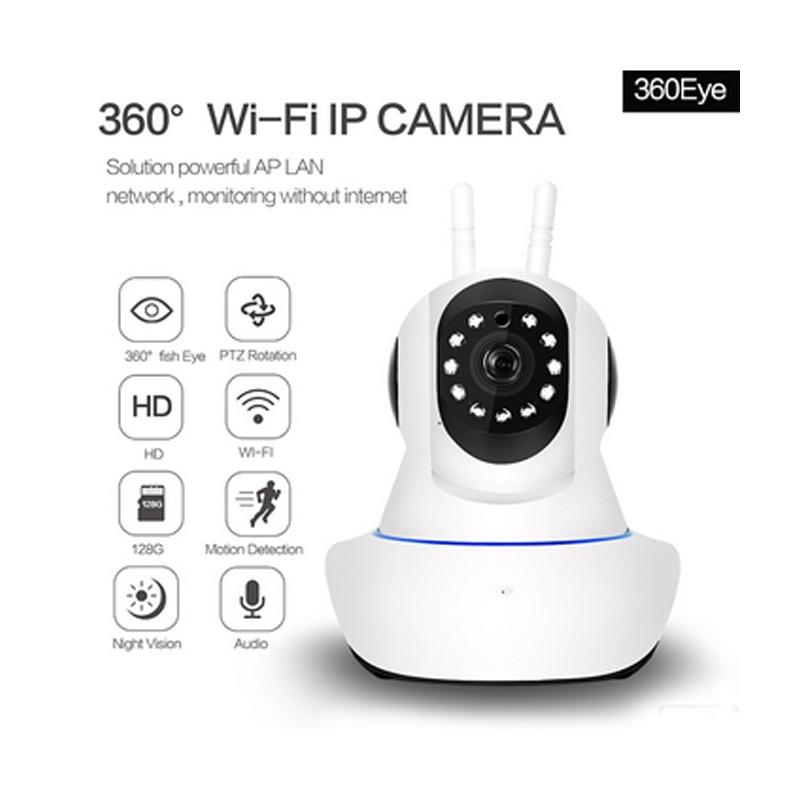 720P P2P PTZ Wireless Wifi IP Camera Wifi Security Camera 2-way Audio Surveillance Camera ONVIF IR Cut