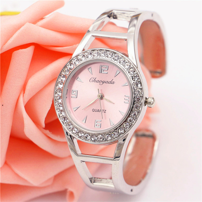 Watch Women Luxury Brand Silver Bracelet  Ladies Quartz Wristwatch women's Clock Female Gifts Horloge Fashion watches for women xinge brand fashion women quartz wrsit watches clock leather strap business watch ladies silver luxury female sport womens watch