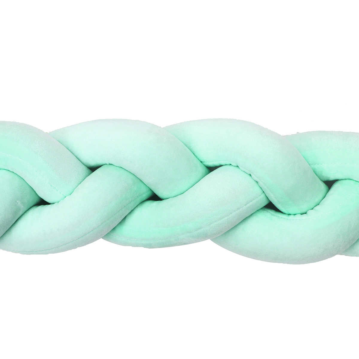 5 размеров вязаная длинная подушка в скандинавском стиле, мягкая тесьма, подушка для новорожденных, бампер, ткачество, плюшевая детская кровать, декоративная защита