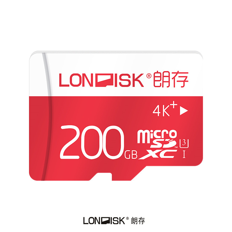 Londisk Micro SD Card 200GB Class10 UHS 3 Memory Card Flash Memory Microsd TF Card for