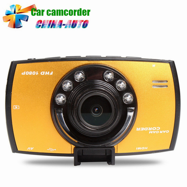 Portable Car Camcorder Full HD Novatek 170 Degree 1080P Wide Angle Night Vision Car Camera Recorder