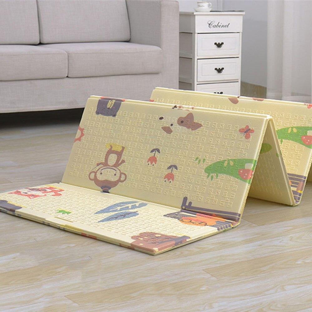 MrY tapis de jeu bébé tapis de jeu Xpe matériel Puzzle tapis pour enfants épaissi bébé chambre ramper Pad tapis pliant bébé tapis - 4
