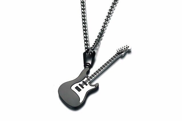 Фото 2020 модное мужское ожерелье цепь музыкальные инструменты ожерелья