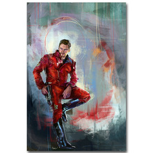 STAR LORD – Guardian of The Galaxy Art Silk Fabric Poster Print 13×20 24x36inch Superheroes Movie Picture for Room Wall Decor 20