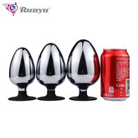Dia 60/70/80mm Huge Metal Butt Plug Anal Plug Big Anal Balls Expansion Dilatador Anal Toys Prostata Massage For Couples Buttplug