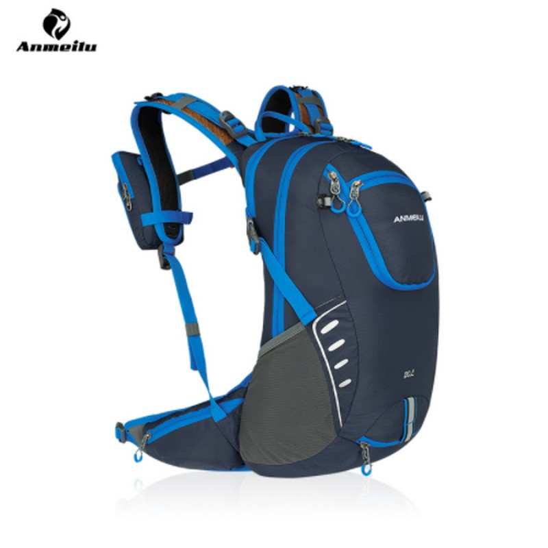 ANMEILU Profession Outdoor Waterproof Bicycle Backpack 20L Bike Cycling Hiking Hydration Backpack Climbing Sports Bag,no water anmeilu 20l bicycle backpack with helmet net rain cover 2l bike water bag waterproof outdoor cycling hiking hydration backpack