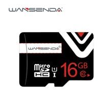 Brand new Wansenda memory Card 64GB 32GB 8GB 16GB 4GB 100% Real capacity Micro sd Card high quality TF card with free package