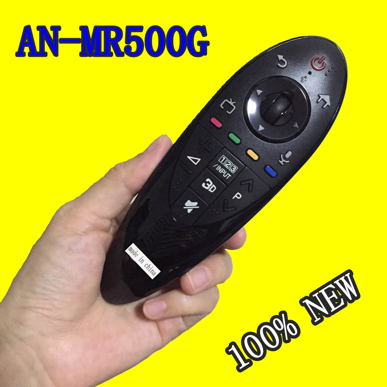 100% new AN-MR500G Magic Remote Control FIT for LG smart TV Series English version free shipping new an mr600g anmr600 magic remote control for lg 3d smart tv