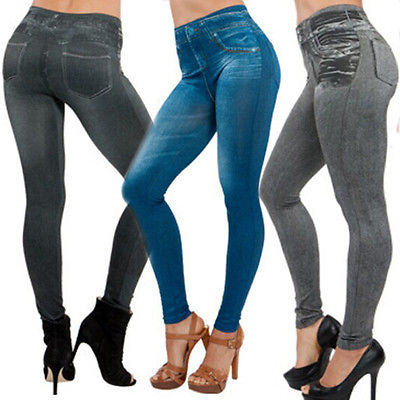 Thefound Sexy Women Jean Jeggings Slim Skinny Pants