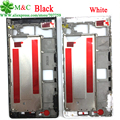 Original P6 Front Frame Cover Housing for Huawei Ascend P6 LCD Front Bezel Plate Housing With Tracking