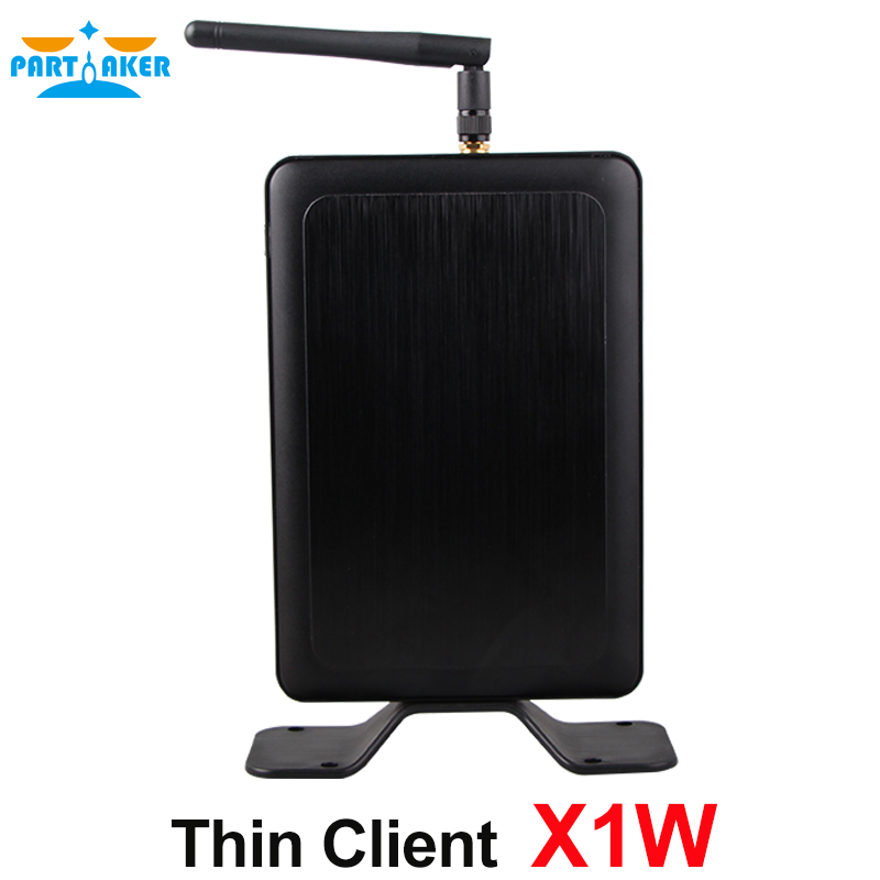 Partaker Thin Client PC X1W All Winner A20 512M RAM 2G Flash Linux 3.4 Embedded RDP 7 Protocol partaker all winner a20 512mb ram linux fl100 thin client network terminal cloud computer mini pc station