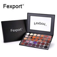 FEXPORT BRAND Makeup 35 Color Eyeshadow Palette Shimmer Eyeshadow Pallete Cosmetics Make Up Maquiagem Drop Ship