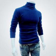 2016 heißen NEUEN Männer Winter Warm Rollkragen Pullover Thermische Pullover Multi farbe option Solides design Weich und Warm 12 arten von farbe