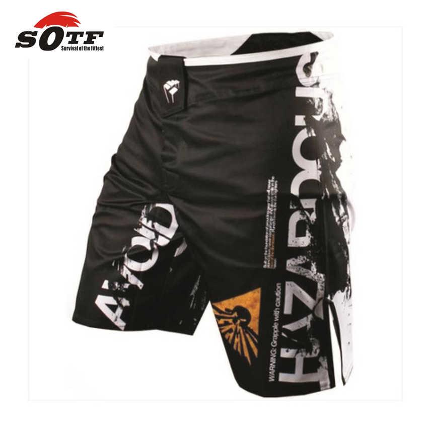 Sotf MMA Celana Khusus Muay Thai Pendek Mma Tinju Celana Tiger Muay Thai PRETORIAN MMA Celana Thai Tinju Kickboxing celana Pendek