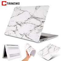 CTRINEWS Laptop Case For Macbook Air 11 13 Pro 13 15 Retina Inch Cases Luxury Marble