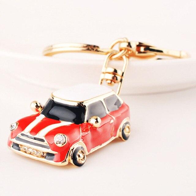 High Quality Car Alloy Keychain Keyring Pendant Car Model Key Chain