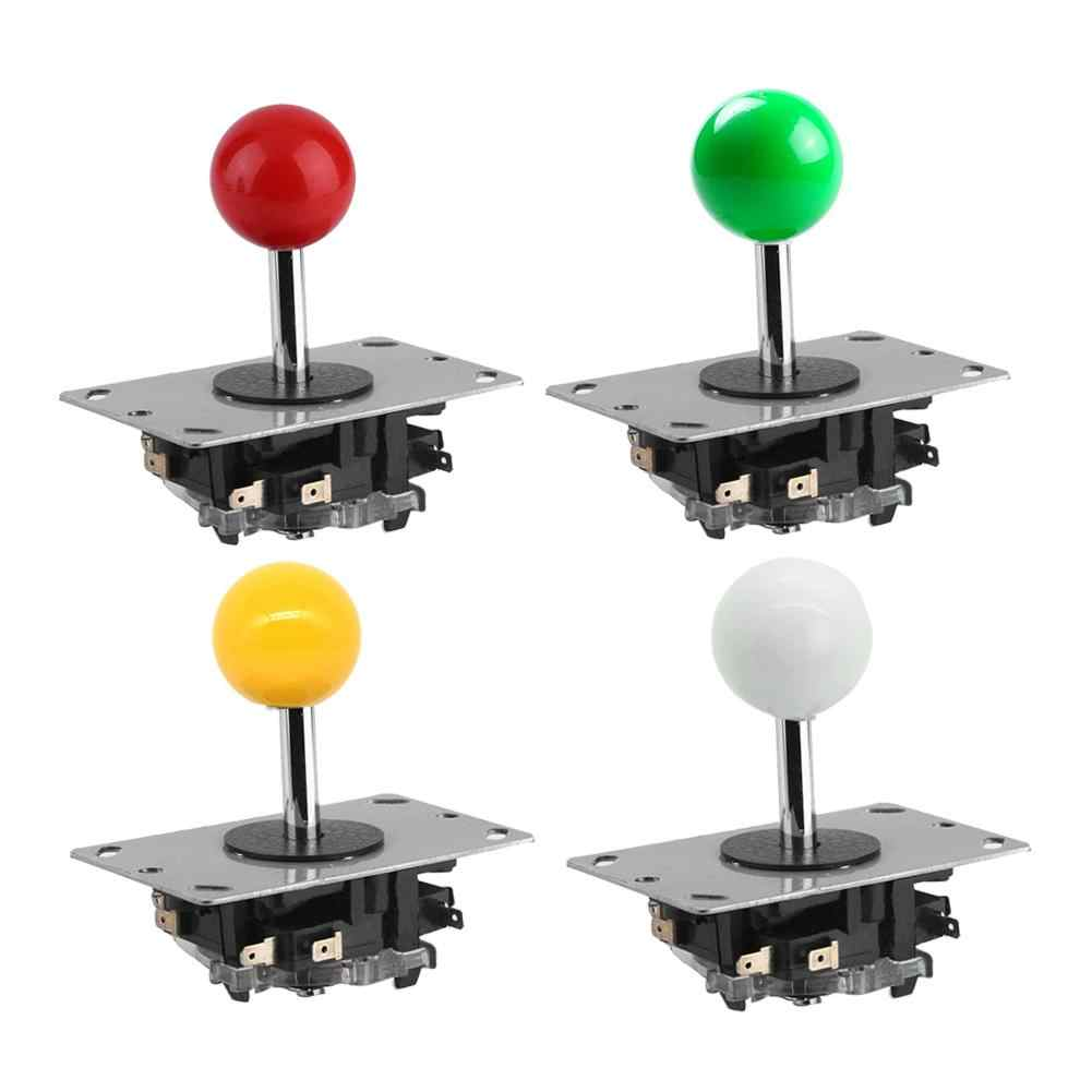 New Classic Arcade Joystick 2/4/8 Way DIY Game Joystick Fighting Stick Replacement Parts for Arcade Game jamma