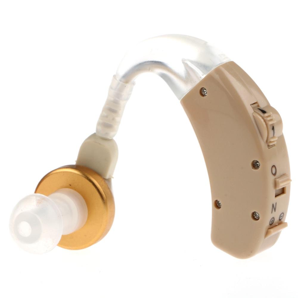 Jual panas mini alat bantu dengar, Bantu F162 di belakang telinga nada disesuaikan penguat suara, Kit disesuaikan, 3 perawatan ...