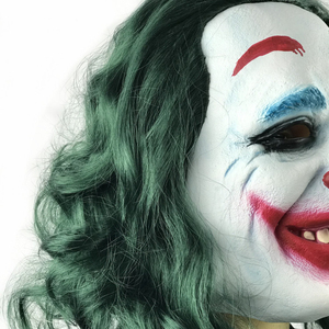 Image 5 - Masque de film Joker Arthur Fleck, masques en Latex pour Cosplay pour fête dhalloween