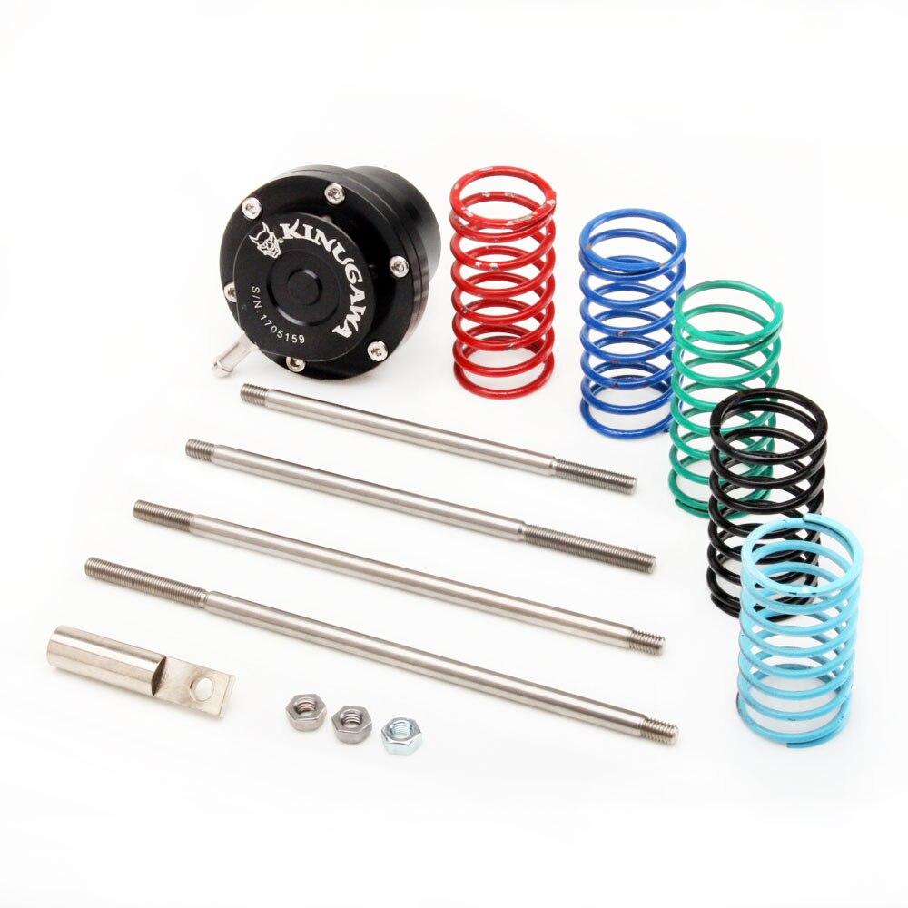 Kinugawa Regolabile Turbo Wastegate Attuatore w/6 x spring & 4 x Rod per Universale