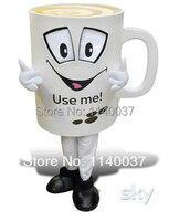 Tazza di caffè tazza di bevanda del costume della mascotte di fantasia personalizzata dress cosplay kit cartoon mascotte costume costume di carnevale costume operato