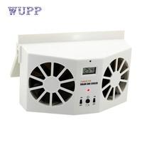Solar Powered Car Window Air Vent Ventilator Mini Air Conditioner Cool Fan NEW Ventilador Frio Fa