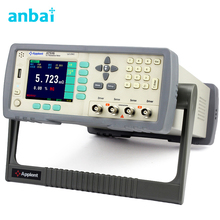 """Cheap price High Accuracy DC Resistance Meter Micro Ohm Meter Tester 1u-20M Ohm RS232 Handler Built-in Comparator 3.5"""" TFT LCD AT516"""