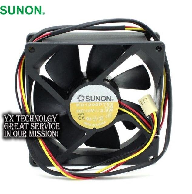 SUNON Neuen 9225 KD1209PTS2 DC12V 2,5 Watt drei draht ...
