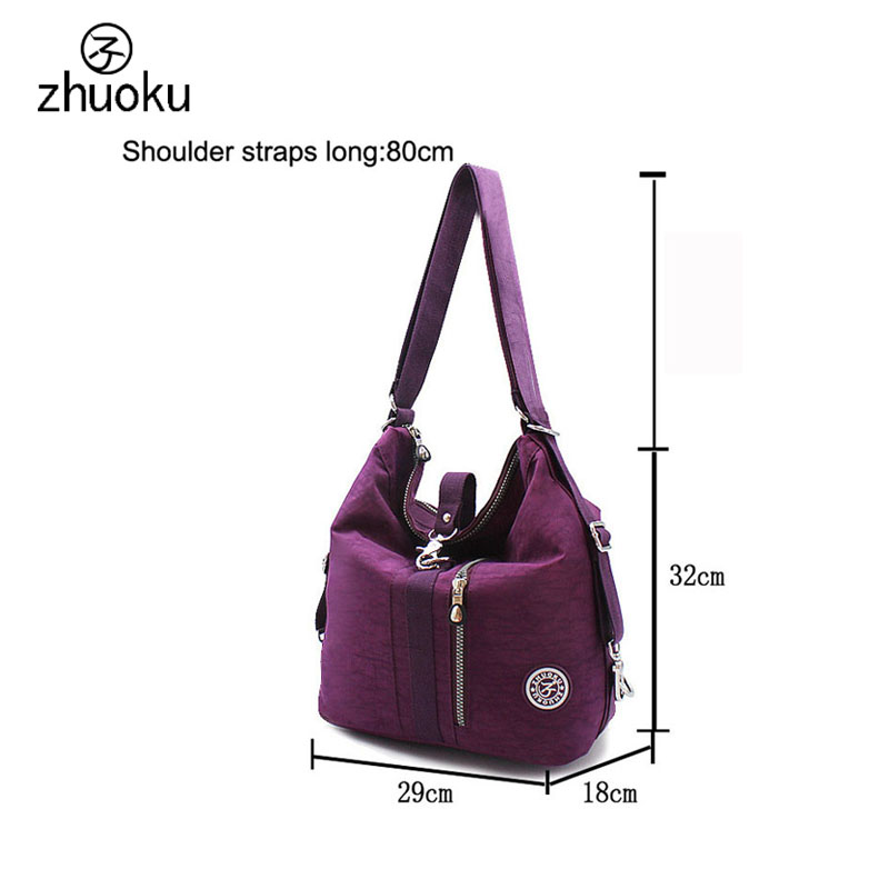 2019 New Women Top-handle Shoulder Bag Designer Handbags Nylon Crossbody Bags Female Casual Shopping Tote Messenger Bags