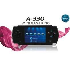 Dingoo A330 consola Handheld 8 16 32 bit 3D emulador jugador del juego Video del LCD de 2.8 pulgadas ( negro ) apoyo DINGUX system / Dingoo a320