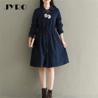 JYRO Brand Mori Women Size S Dresses New Women S Clothing Long Loose Large Size Knee