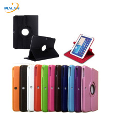 High-quality 360 Rotating Case For Samsung Galaxy Tab 3 10.1 inch P5200 P5220 P5210 Tablet protective Cover+Screen film+stylus