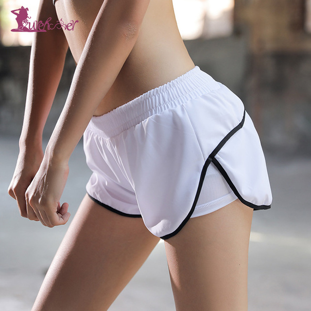 Quick Dry Breathable Solid Yoga Shorts