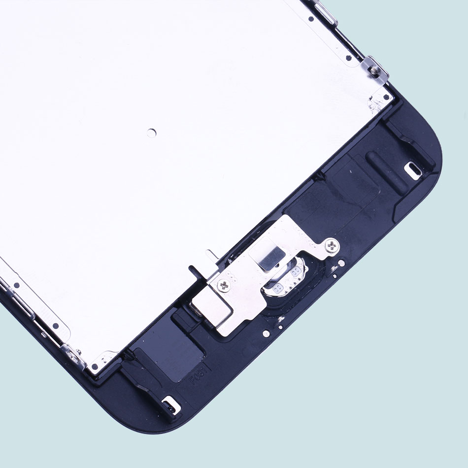 Mobymax 5PCS for iPhone 6S Plus Full Assembly Ecran Pantalla LCD Display Touch Screen Digitizer+Home Button+Front Camera+Frame