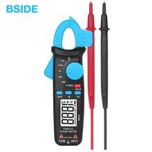 Bside真の実効値クランプメーター 1mAプライヤー電流計プロ車の修理デジタルマルチメータdc ac電流ボルト温度コンデンサテスター