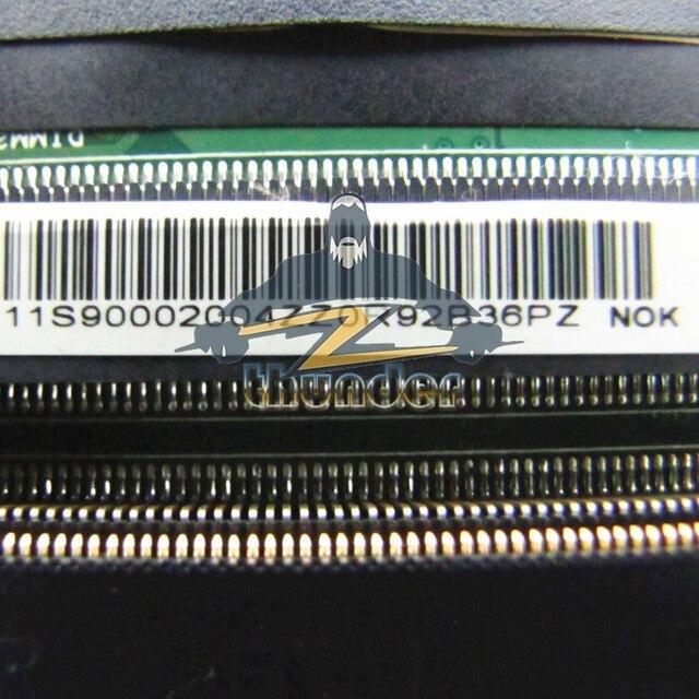 Pour Lenovo Ideapad B490 carte mère dordinateur portable 11S90002004 48.4TD07.01M HM76 DDR3L GT635M carte vidéo