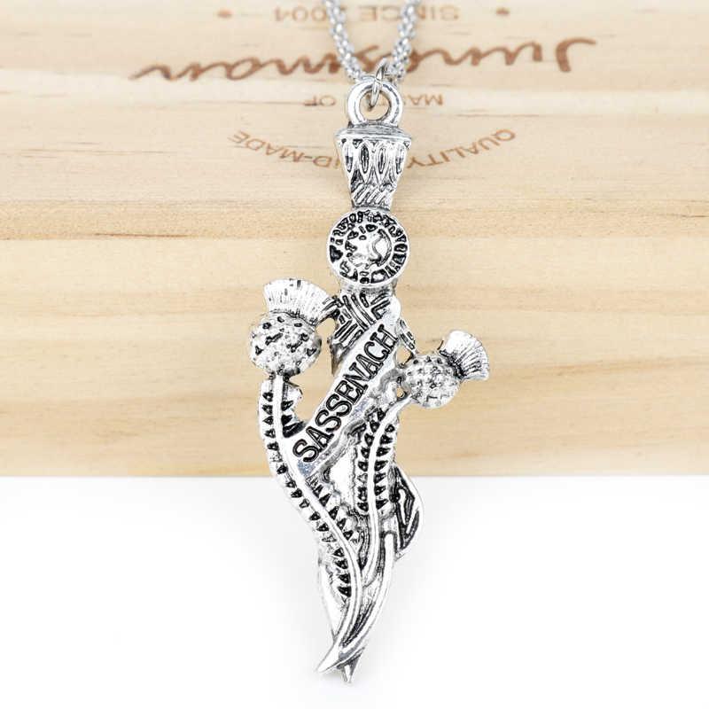 17 stylów w szkockim naszyjnik irlandzki Celtics Knot naszyjnik mężczyzn damski łańcuszek uroczy choker moda biżuteria