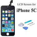 For iPhone 5C Black LCD Display Touch Screen Digitizer Assembly Replacements