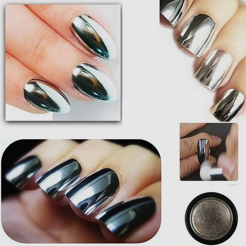 Avon Chrome Nail Powder: Sexy Nail Mirror Powder Women Nail Glitter Chrome Powder