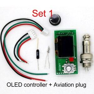 Image 2 - T12 STC OLED 납땜 스테이션 철 diy 부품 키트 T12 952 디지털 온도 컨트롤러 금속 케이스와 납땜 인두