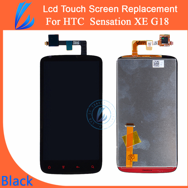 LL TRADER Touch Screen Replacement LCD For HTC G18 Sensation XE Z715E LCD Display Screen + Digitizer Assembly Free Tools