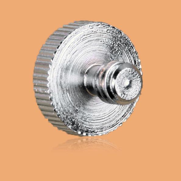 100Pcs Metal 1/4 to 1/4 Adapter Screw Tripod/Light Stand Mount Screw