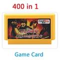 Super Valor cartucho de jogo de Jogo de 8 bits Cartão De 60 pinos FCompact Jogos Leitor de Cartão Para A Família Jogo TV 400 em 1