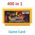 Super Value 8 bits Tarjeta De Juego 60 pin cartucho de juego FCompact Tarjeta Reproductor de Juegos Para La Familia TV Juego 400 en 1