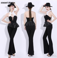 2018Jazz Dance Costume Europe and the United States Ds Clothing Sexy Stage Costumes For Singers Performance Dj Lead Dance Suit