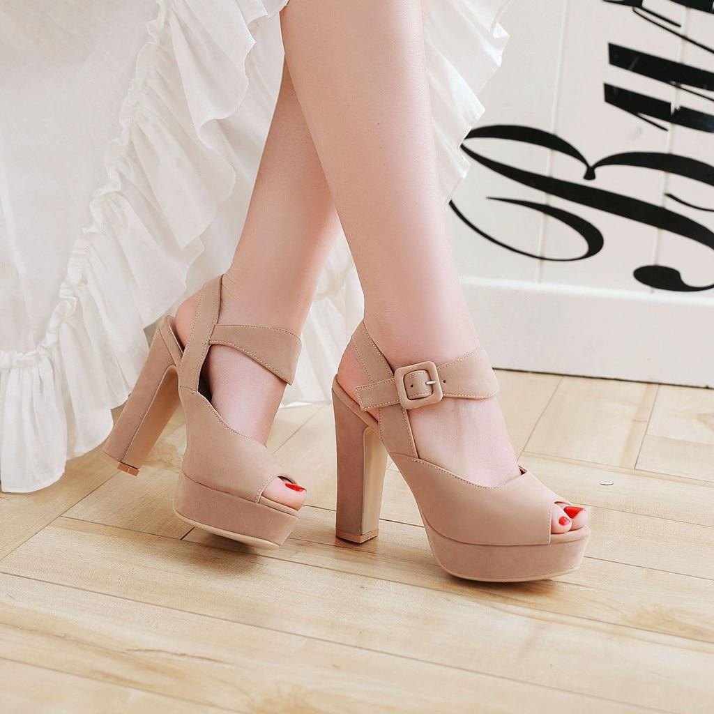 Partie Marque Confortable Beige Style Plate Sandales Talons De noir forme Esrfiyfe apricot Nouvelle Dames Chaussures Roma Femmes D'été Hauts 2018 Mode pxqgFET