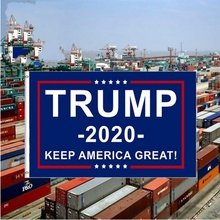 President Donald Trump Flag 2020 Outdoor 3x5 Feet with Grommets Keep America Great Hanging Flags for Supporting