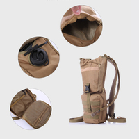 3L Large Capacity Water Bag Outdoor Sport Military Tactical Hunting Hiking Camping Bladder Hydration Backpack Molle Packs Set
