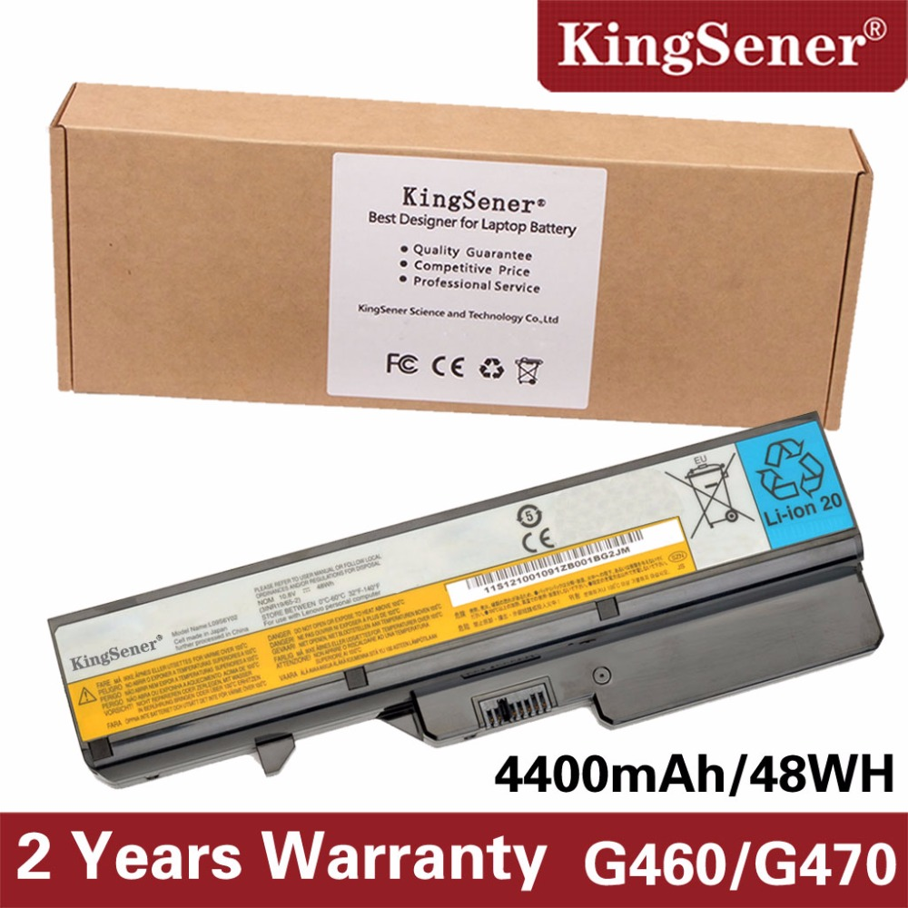 KingSener New L09S6Y02 Laptop Battery for Lenovo IdeaPad G460 G470 G570 G560 V360 V370 V470 Z460 Z465 B470 B570 L09L6Y02 4400mAh laptop battery for lenovo ideapad g460 g465 g470 g475 g560 g565 g570 g575 g770 z460 v360 v370 v470 l09m6y02 l10m6f21 l09s6y02